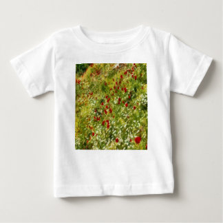 Impressionist Poppies Baby T-Shirt