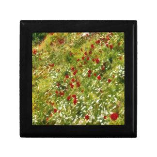 Impressionist Poppies Gift Box