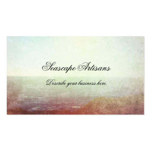 Impressionist Seascape Business Card