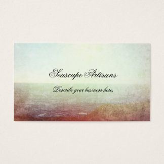 Impressionist Seascape Business Card