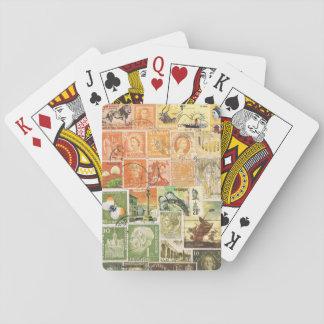 Impressionist Sunset Playing Cards Boho Travel Art