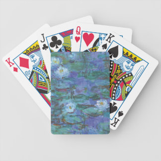 Impressionist Texture Bicycle Playing Cards