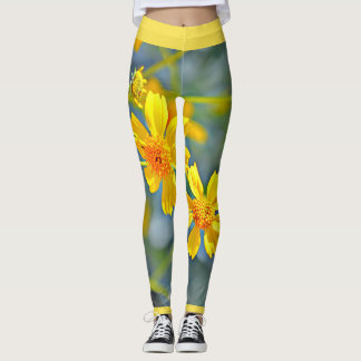 Impressionist Wildflower Women's Leggings. Leggings