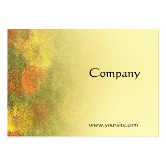 Impressionist Zinnia Garden Large Business Cards (Pack Of 100)