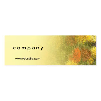 Impressionist Zinnia Garden Pack Of Skinny Business Cards