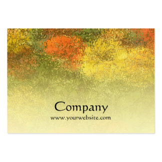 Impressionist Zinnia Garden Pack Of Chubby Business Cards
