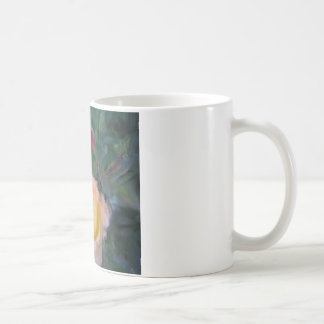 IMPRESSIONISTIC ROSES COFFEE MUG