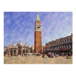 Impressitaly Venezia Piazza San Marco Postcard