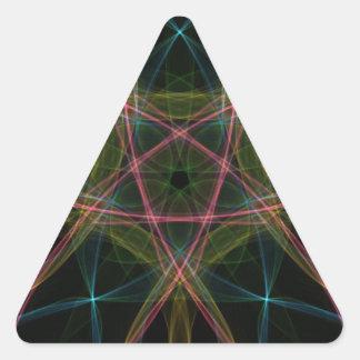 Impressive Colors Triangle Stickers