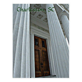 Impressive Door, Charleston, SC Post Card