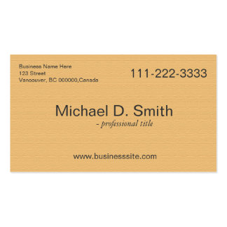 impressive golden, sunny yellow full information business card template