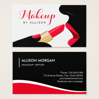 Impressive Makeup Artist Hot Red Lips Lipstick