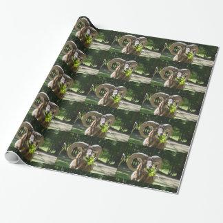 Impressive Mouflon Ram Wrapping Paper