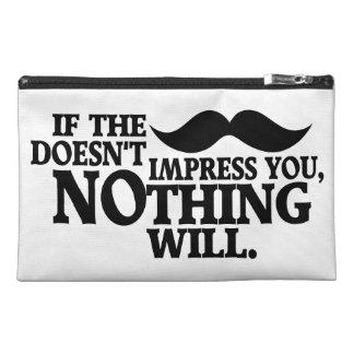 Impressive Moustache custom color accessory bags