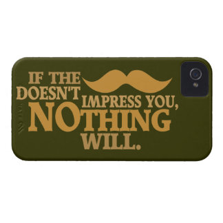 Impressive Moustache custom color iPhone case-mate iPhone 4 Covers