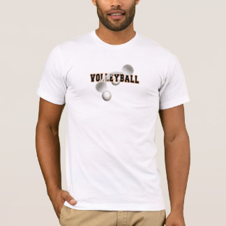 Impressive Sports Tee Shirt - Volleyball Design #3
