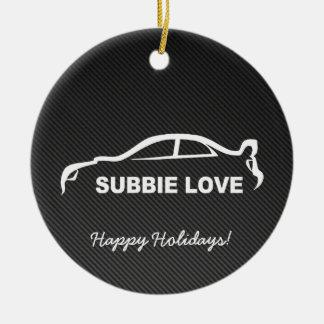 Impreza STI Silhouette with Carbon fiber Ceramic Ornament