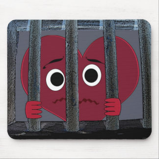 Imprisoned Heart Mousepad