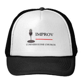 IMPROV at the Cornerstone. . . Mesh Hats