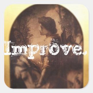 IMPROVE sticker 3