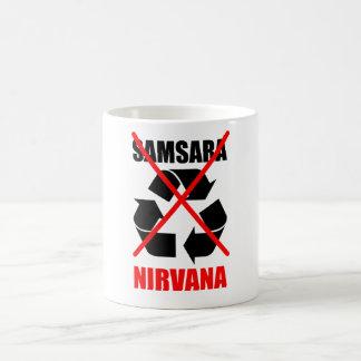 Improve Your Karma No To Samsara Go For Nirvana Coffee Mug