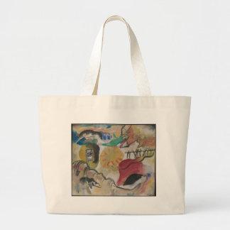 Improvisation 27 large tote bag