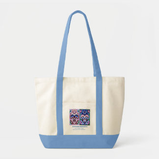 Impulse 2 color Tote FACE is an INDEX of MIND Impulse Tote Bag