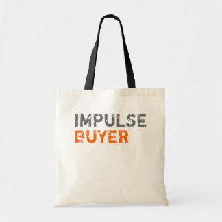 Impulse Buyer Budget Tote Bag