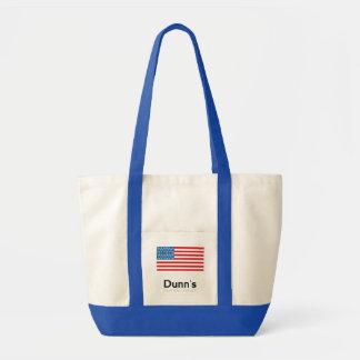 Impulse Tote Bag (Natural and Blue)