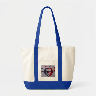 impulse tote with hearts on it impulse tote bag