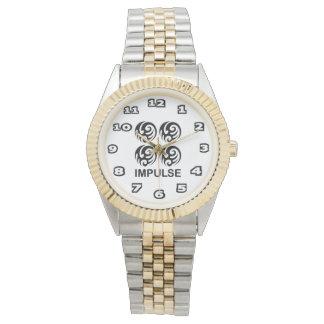 Impulse Women's Two-Tone Bracelet Watch