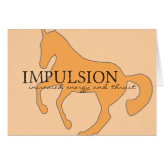 IMPULSION 5x7 GREETING CARD