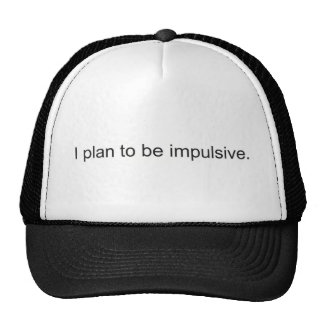 Impulsive Mesh Hats