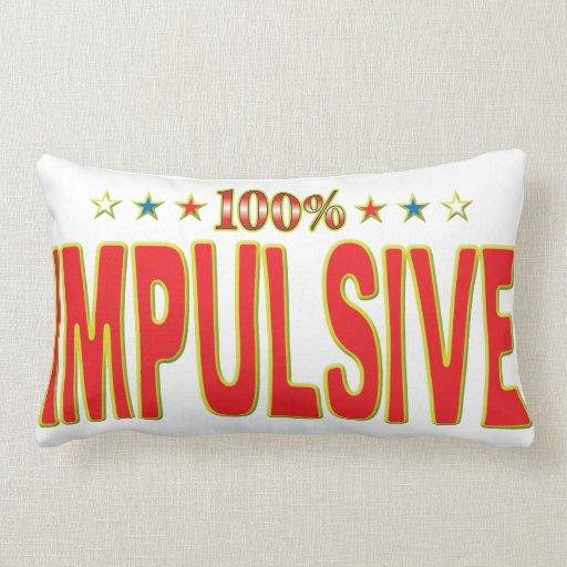 Impulsive Star Tag Throw Pillows