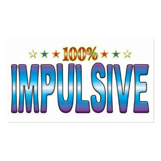 Impulsive Star Tag v2 Business Cards