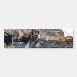 Imre Kiralfy s Madison Square Garden Retro Thea Bumper Sticker
