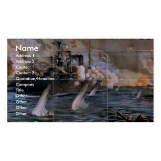 Imre Kiralfy s Madison Square Garden Retro Thea Business Card