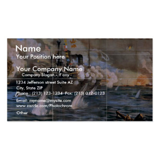 Imre Kiralfy s Madison Square Garden Retro Thea Business Cards