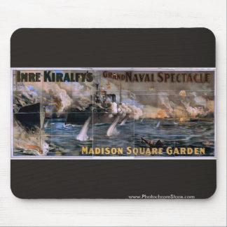 Imre Kiralfy s Madison Square Garden Retro Thea Mouse Pad