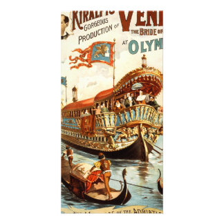 Imre Kiralfy's gorgeous production of Venice Photo Card Template
