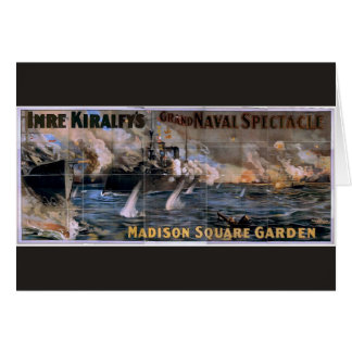 Imre Kiralfy's, 'Madison Square Garden' Retro Thea Cards