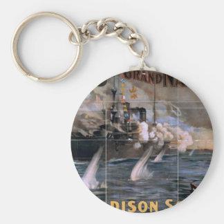 Imre Kiralfy's, 'Madison Square Garden' Retro Thea Key Chain