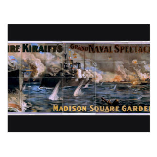 Imre Kiralfy's, 'Madison Square Garden' Retro Thea Post Cards