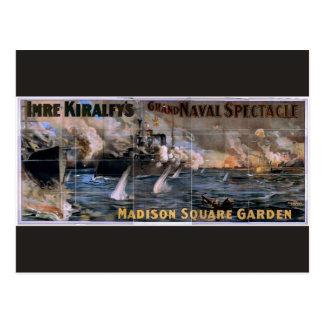 Imre Kiralfy's, 'Madison Square Garden' Retro Thea Postcard