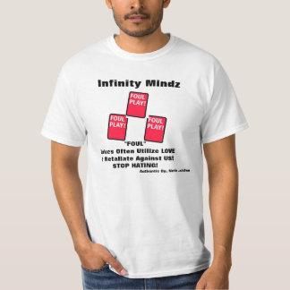 "iMz ""FOUL PLAY"" ad T-Shirt"