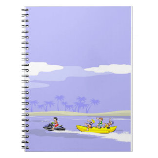In a boat banana the friendly are amused notebook