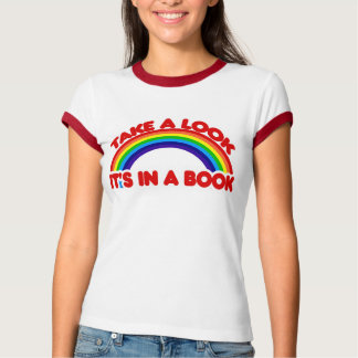 In a BOOK T-Shirt