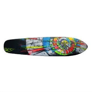 In A Bull's Eye - Graffiti Sk8 Art 18.1 Cm Old School Skateboard Deck