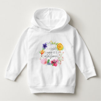 In A Field of Roses, She is a Wildflower T-Shirt