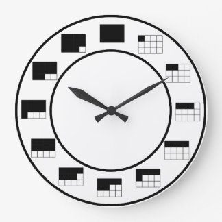 In A Fraction of Time:  by twelths Clock